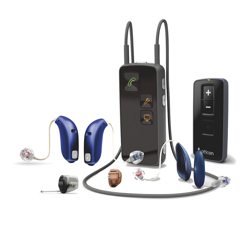 hearing aids with wireless connectivity features