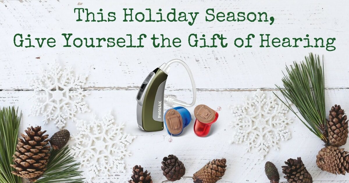 HearCare RI - This Holiday Season, Give Yourself the Gift of Hearing